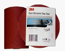 MMM01108 3M™ Red Abrasive Stikit™ Disc, 6 inch, P400 grit,100 discs per roll