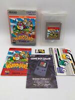 Wario Land Warioland CIB (Nintendo Game Boy GB, 1993) Japan Import