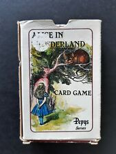 playing cards games vintage - Alice in Wonderland