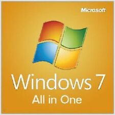 Windows 7 All-in-One 32/64-Bit Install | Boot | Recovery Restore DVD Disc Disk