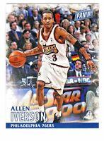 2016 Panini Black Friday #41 ALLEN IVERSON Philadelphia 76ers HOF