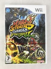 Nintendo Wii Mario Strikers Charged Football, UK Pal, New & Factory Sealed