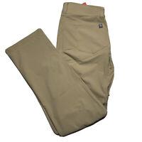 The North Face Men Retrac Tech Hiking Climbing Pants Khaki Size 34 Regular NEW