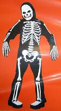 Youth Child Girl or Boy Costume - Totally Skelebones 3D Costume Sz M (8-10) NEW
