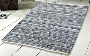 Small- Large Chindi Rug 100% Recycled denim Handmade Rug Runner Door Floor Mats