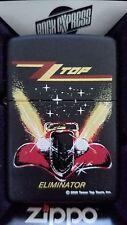Retired Zz Top Eliminator Rock & Roll Zippo Lighter