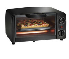 Proctor-Silex Black 4 Slice Toaster Oven w/ Broiler