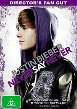 Justin Bieber: Never Say Never (Director's Fan Cut) * NEW DVD * Ludacris Snoop