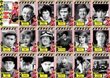 Carry on Cabby movie trading cards
