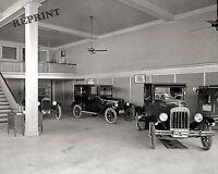 Photograph Vintage Chevrolet / Chevy Showroom  Dallas Texas  Year 1920   8x10