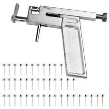 1 Set Pistola in Metallo Valigetta per Forare Orecchio con 98 Borchie