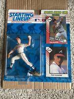 1993 Starting Lineup Tom Glavine Atlanta Braves (2nd piece) rare
