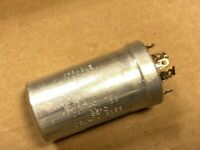 Vintage 1960s Sprague 20/20/20/20 uf 450v Quad Can Capacitor Guaranteed Working