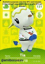 Tia/Fanny - Animal Crossing New Horizons - Carte amiibo NFC Custom
