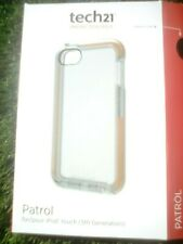Genuine Tech21 D30 Patrol Case Cover for iPod touch 5th Generation - Clear