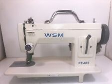 Wsm Re 607 Long Arm Portable Walking Foot Machine