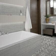 90x30cm Silex Gris Stripe Ceramic Bathroom Wall Tiles (1 SQM = 3.7 Tiles)