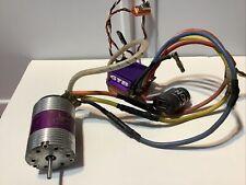 Novak 10.5 Brushless Motor with GTB ESC