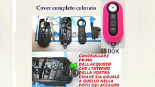 COVER CHIAVE COMPLETA FIAT 500 BRAVO G.PUNTO EVO DOBLO LANCIA YPSILON DELTA -P-