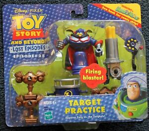 Toy Story Hasbro Lost Episodes #25 TARGET PRACTICE Set!