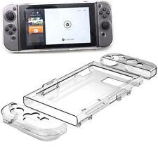 Anti-arañazos cubierta rígida cubierta trasera para Nintendo Switch fácil de agarrar y luz