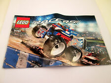 Lego Racers Instruction Booklet 9094 MANUAL ONLY Book