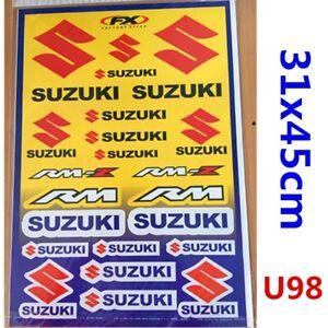 SUZUKI Sticker Decal Car Motorised Bike Dirt ATV Quad Motorcycle Scooter Motor