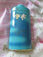 VINTAGE AVON RAPTURE PERFUMED TALCUM BODY POWDER TALC 100G IN TIN