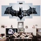 HD Printed Modern Abstract Oil Painting Wall Decor Art Huge - Living Room 5pcs