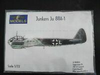 Junkers Ju - 88, A - 1, Umbauset Motorverkl, LF Models, Scale: 1/72, Kit:7203