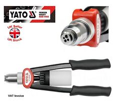 Yato Professional Lazy Tongue Hand Riveter For 3.2 4.0 4.8 6.4 Rivets YT-36092