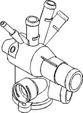 VW Golf Mk3 1991-2002 Thermostat Housing Cooling Coolant Engine Replace Part