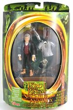 Lord of the Rings LOTR Fellowship of the Ring Traveling Bilbo Figure 2001 MISB