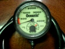 Oceanic 4,000 2 function Psig in Excellent Condition Mechanically Cosmetically