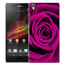 Étuis, housses et coques Sony Xperia Z1 en silicone, caoutchouc, gel pour téléphone mobile et assistant personnel (PDA) Sony