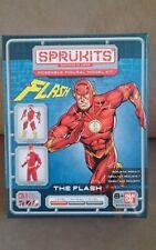 Ban Dai SPRUKITS Poseable Model Kit THE FLASH Justice League  LEVEL 1