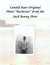 "Candid Rare Photo ""Rochester Van Jones"" Actor Eddie Anderson Jack Benny Show"