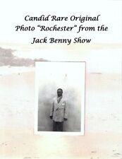 "Candid Rare Photo ""Rochester Van Jones"" Actor Eddie Anderson Jack Benny Show"