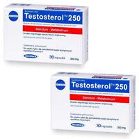 2x TESTOSTEROL 250 Megabol Testosteron Booster 60 Kaps Probolan Testo Anabole