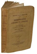 Laurent: Théorie de la Peinture Perspective linéaire et aérienne - 1840, 8 pl.