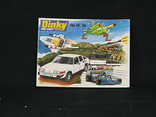 Dinky Die Cast Toys Catalogue No.14