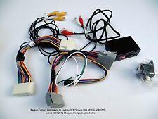 Backup Camera Interface  Chrysler, Dodge, Jeep 2007-Up All Factory MYGIG Screens