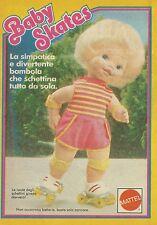 X2125 Bambola Baby Skates - Mattel - Pubblicità 1985 - Advertising