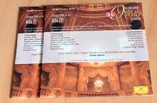 Verdi - Aïda - Raimondi Ricciarelli Domingo Ghiaurov - Claudio Abbado - 2 CD