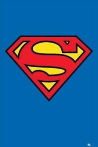 Superman Logo Poster