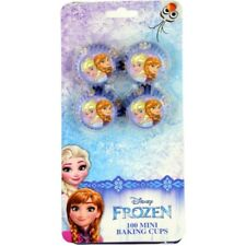 Disney Frozen Elsa and Ana Cupcake Mini Baking 100 Cups Paper Frozen Birthday