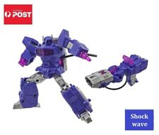 Transformers Decepticon G1 Style Robot Toy - Shockwave
