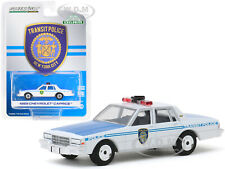 1989 CHEVROLET CAPRICE NYC TRANSIT POLICE DEPT. 1/64 DIECAST BY GREENLIGHT 30100