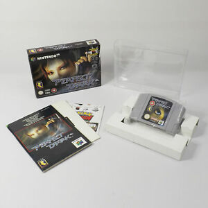 N64 Perfect Dark Boxed Very Good Condition