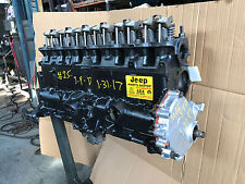 1987-89 JEEP WRANGLER YJ MOTOR 4.2L ENGINE AMC REBUILT WARRANTY REMANUFACTURED